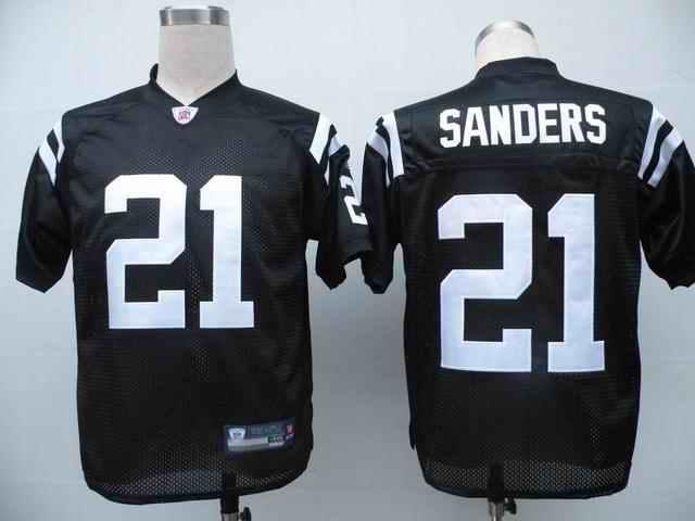 Colts 21 Bob Sanders black Jerseys