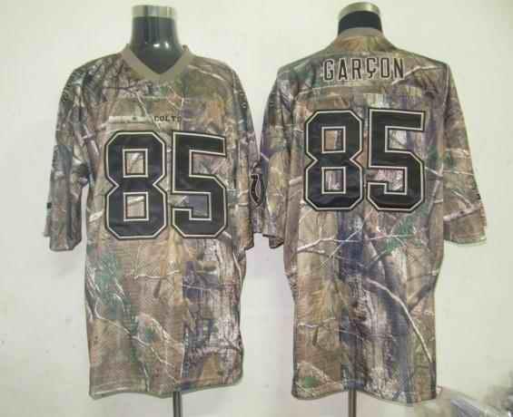 Colts 85 Garcon camo Jerseys