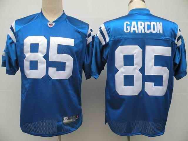 Colts 85 Pierre Garcon blue Jerseys