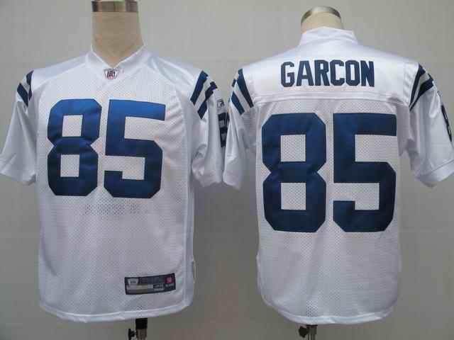 Colts 85 Pierre Garcon white Jerseys