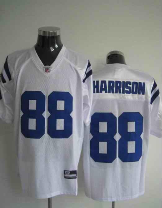 Colts 88 Harrison White Jerseys