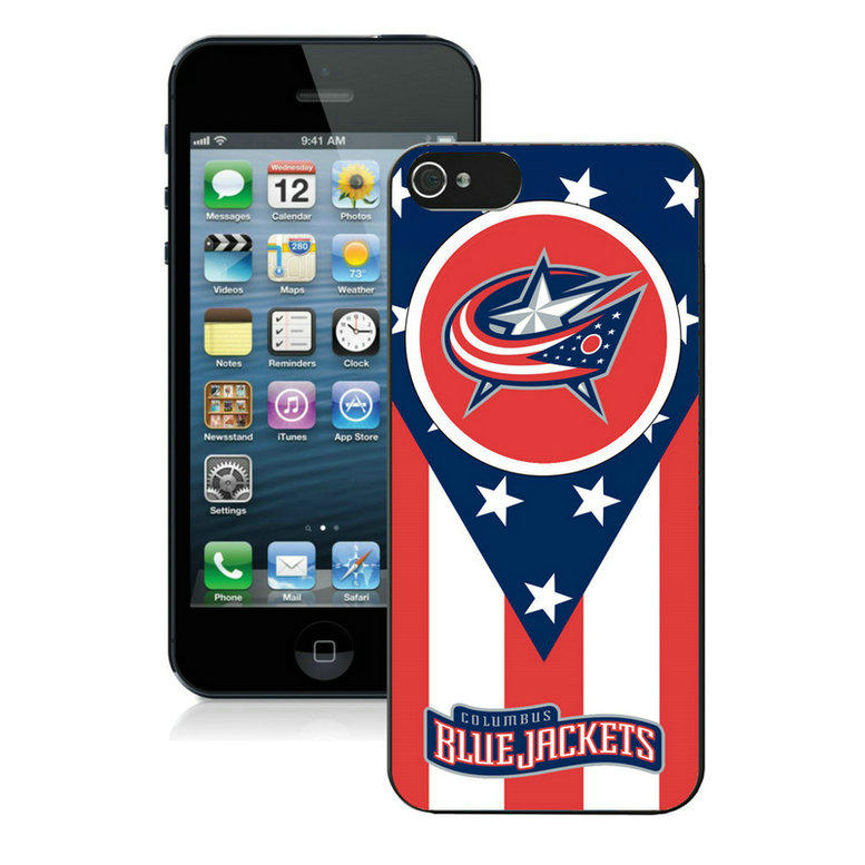 Columbus Blue Jackets-iPhone-5-Case