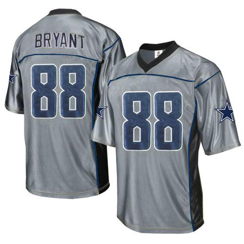 Cowboys 88 Bryant Grey Jersey