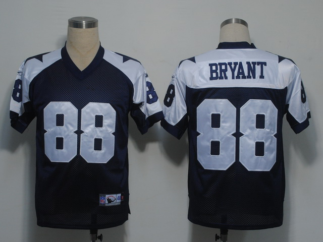 Cowboys 88 Dez Bryant Blue Thanksgiving Jerseys