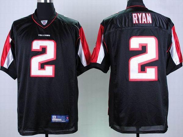 Falcons 2 Matt Ryan Black Jerseys