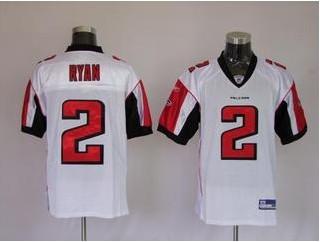 Falcons 2 Matt Ryan White Jerseys