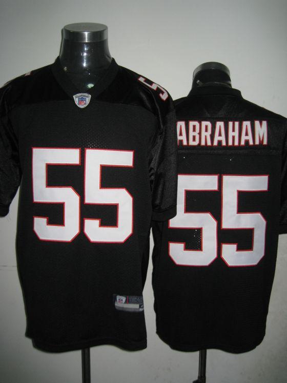 Falcons 55 Abraham black Jerseys