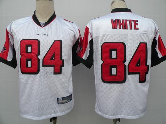 Falcons 84 Roddy White white Jerseys