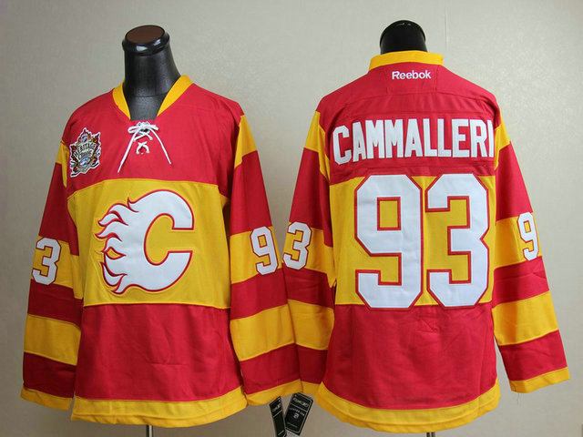 Flames 93 Cammalleri Winter Classic Jerseys