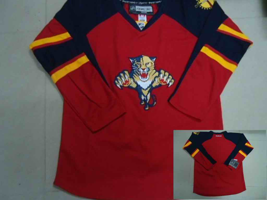 Florida Panthers blank Red jerseys
