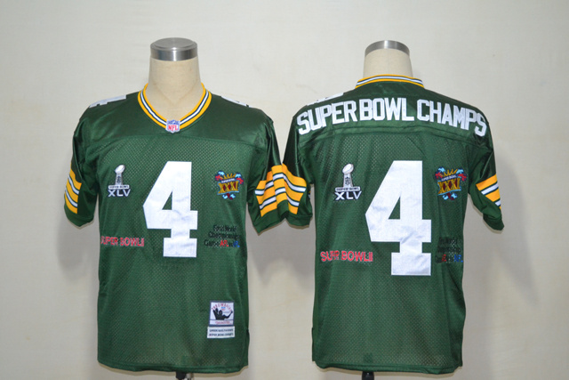 Green Bay Packers 4 Superbowl Champs Green Jerseys