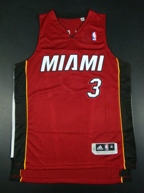 Heat 3 Wade Red AAA Jerseys