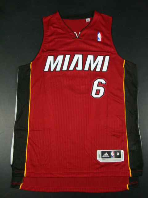 Heat 6 James Red AAA Jerseys