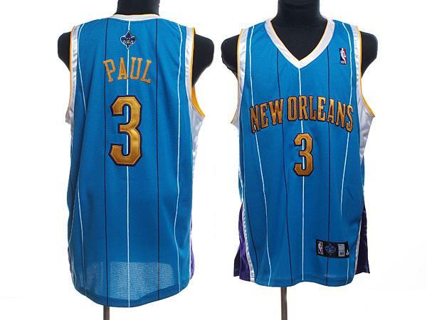 Hornets 3 Paul Blue Jerseys