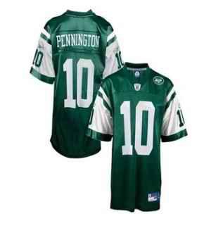 Jets 10 Chad Pennington Green Jerseys