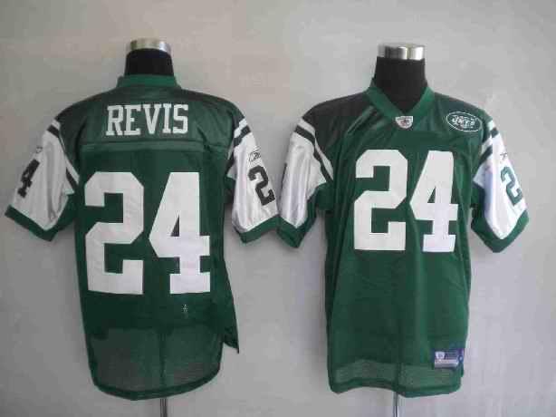 Jets 24 Darrelle Revis Green Jerseys