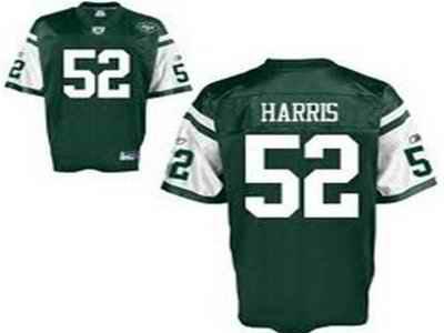 Jets 52 David Harris green Jerseys