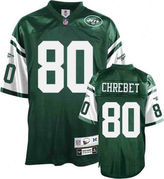 Jets 80 Wayne Chrebet green Throwback Jerseys