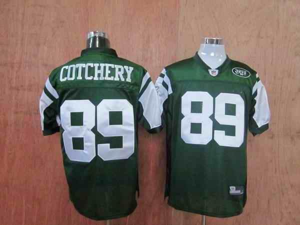 Jets 89 Jerricho Cotchery green Jerseys