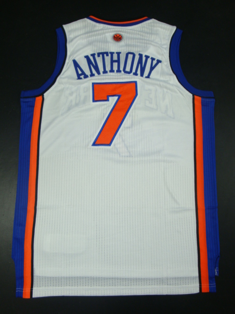 Knicks 7 Anthony White AAA Jerseys