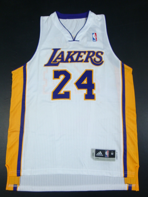 Lakers 24 Kobe White AAA Jerseys