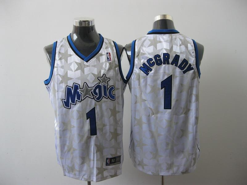 Magic 1 McGRADY White Jerseys