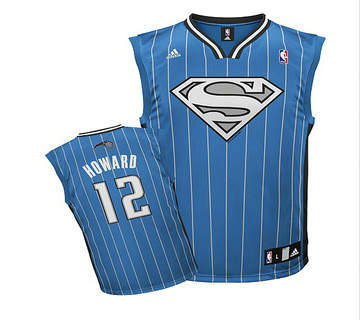 Magic 12 Dwight Howard Blue Jerseys