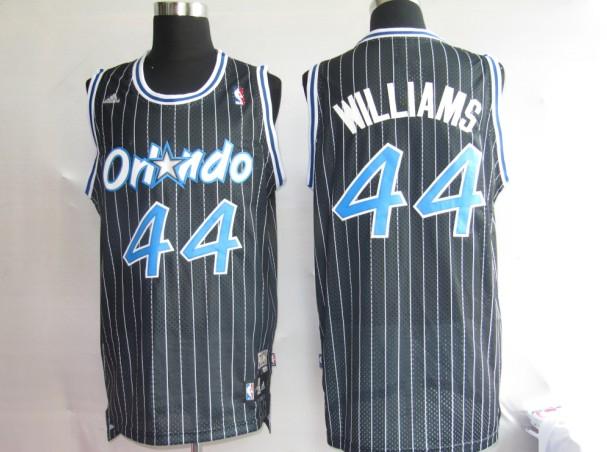 Magic 44 Jason Williams Black Jerseys