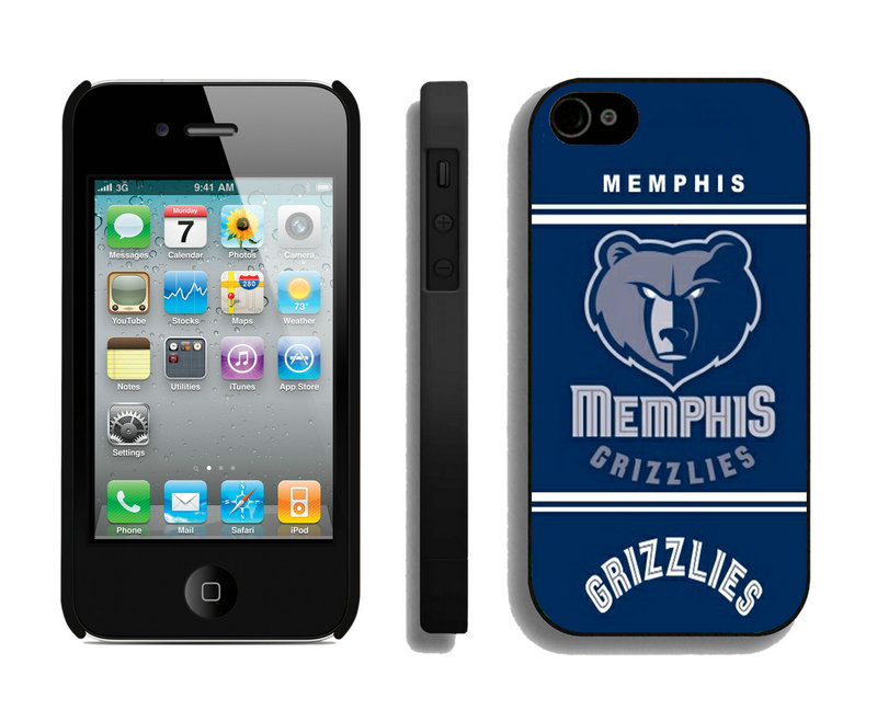 Memphis Grizzlies-iPhone-4-4S-Case-02