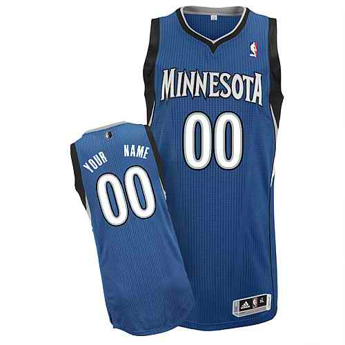 Minnesota Timberwolves Custom white Road Jersey
