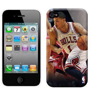NBA Chicago Bulls 1 Rose Iphone 4-4S Case