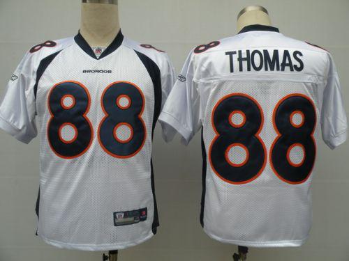 NFL jerseys Denver Broncos #88 THOMAS white