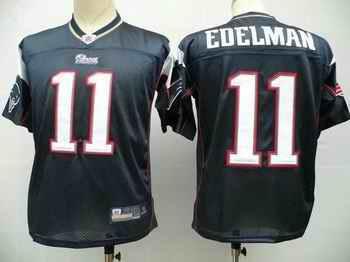 New England Patriots 11 Julian Edelman blue Jerseys