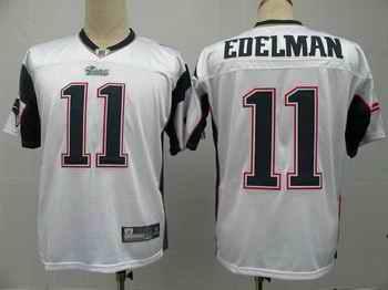 New England Patriots 11 Julian Edelman white Jerseys