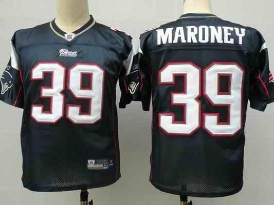 New England Patriots 39 Laurence Maroney Blue Jerseys