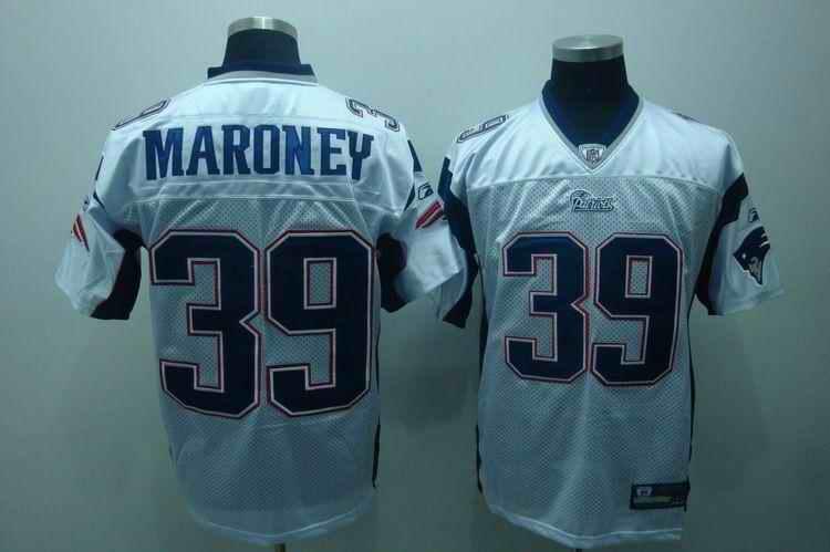 New England Patriots 39 Laurence Maroney white Jerseys