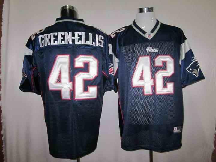 New England Patriots 42 Green-Ellis blue Jerseys