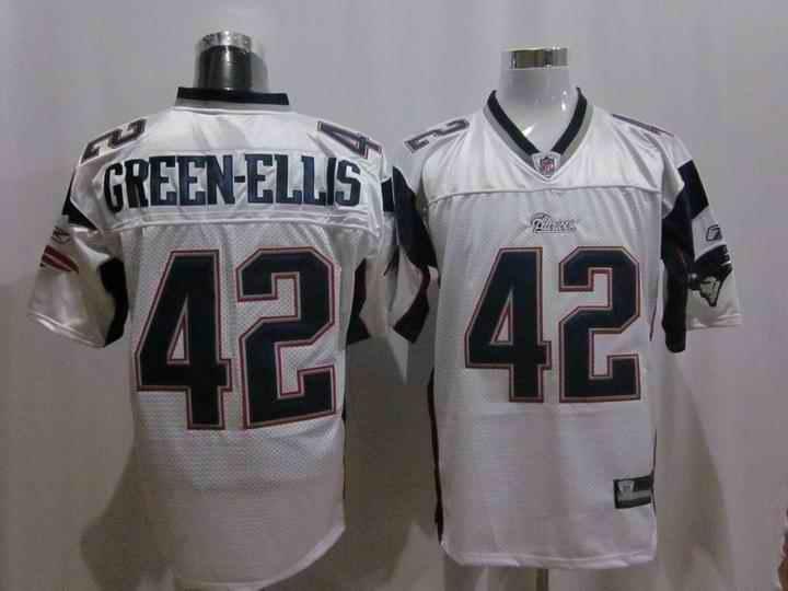 New England Patriots 42 Green-Ellis white Jerseys
