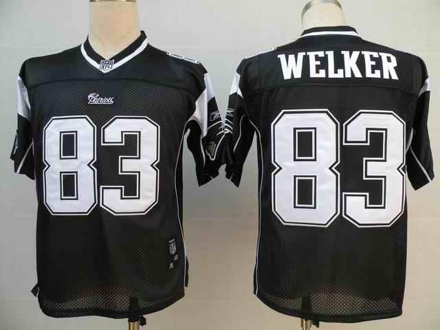 New England Patriots 83 Wes Welker black Jerseys