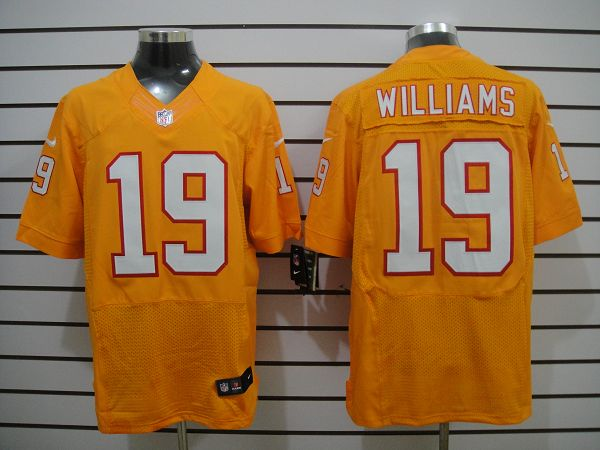 Nike Buccaneers 19 Williams Orange Elite Jerseys