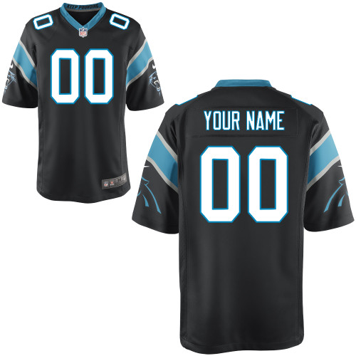 Nike Carolina Panthers Youth Customized Game Team Color Jersey