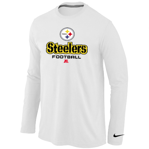 Nike Pittsburgh Steelers Critical Victory Long Sleeve T-Shirt White