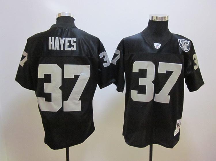 Oakland Raiders 37 Lester Hayes black jerseys