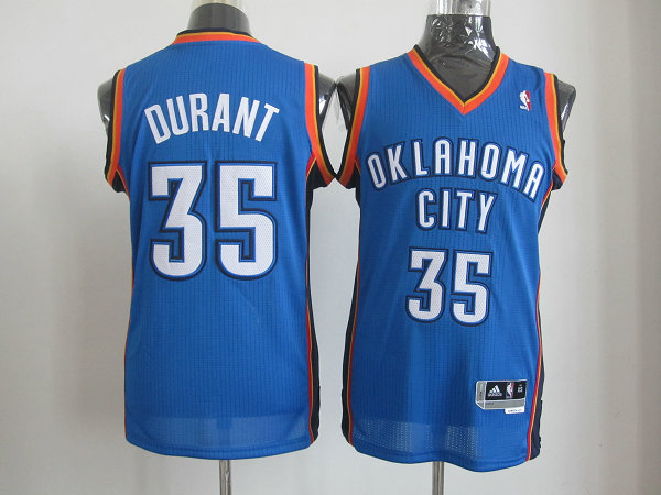 Oklahoma City Thunder 35 DURANT blue AAA Jerseys
