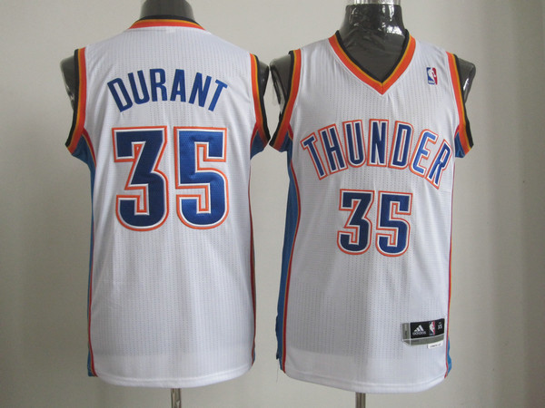 Oklahoma City Thunder 35 DURANT white AAA Jerseys
