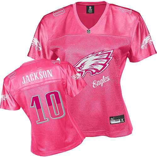 Philadelphia Eagles 10 JACKSON pink Womens Jerseys