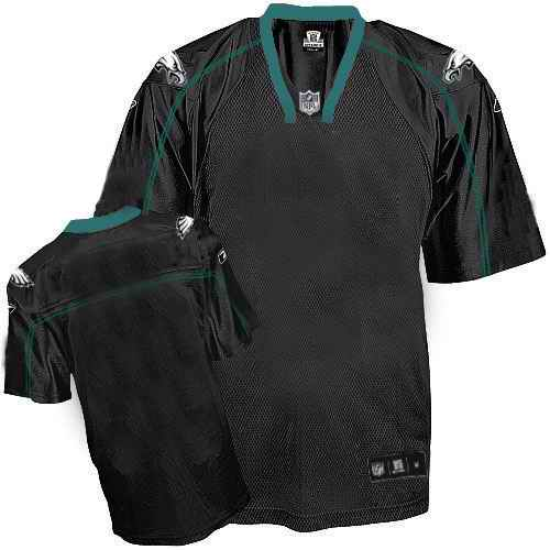 Philadelphia Eagles Men Customized black field shadow Jersey