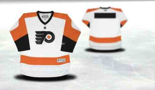 Philadelphia Flyers Youth Customized White Jersey