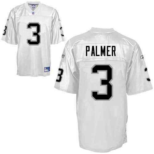 Raiders 3 PALMER White Kids Jerseys