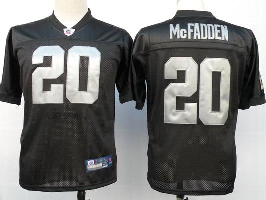 Raiders 20 Darren McFadden Black Jerseys